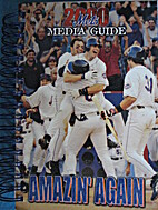 2000 New York Mets Media Guide by New York…