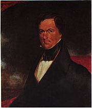 Author photo. Portrait of John H. B. Latrobe, painted by Thomas Sully