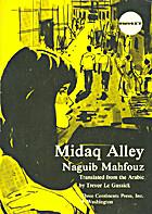 Midaq alley by Nagib Mahfuz