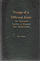 Voyage of a Different Kind; The Associated…