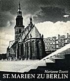 St. Marien zu Berlin. Aus 700 Jahren…
