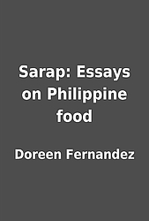 doreen fernandez essay on food