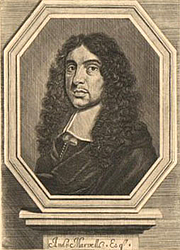 Author photo. Engraving published in 1681.