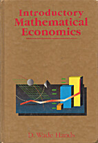 Introductory Mathematical Economics by D.…