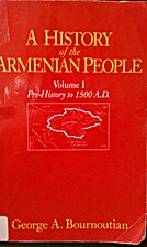 A History of the Armenian People: Prehistory…