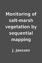 Monitoring of salt-marsh vegetation by…