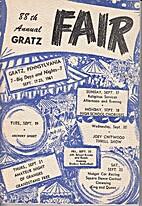 88th Annual Gratz Fair, 1961. by Gratz Fair…