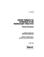 Soviet Threats to Intervene in the Middle…