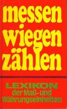 Messen, Wiegen, Zählen by Lutz Adron