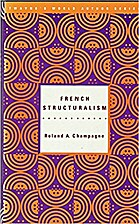 French Structuralism (Twayne's World Authors…