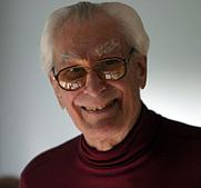 Author photo. Richard K. Guy. Photo by Thane Plambeck.