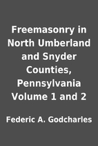 Freemasonry in North Umberland and Snyder…