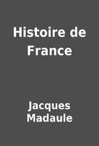 Histoire de France by Jacques Madaule