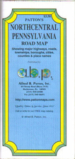 Northcentral Pennsylvania Road Map [map] by…
