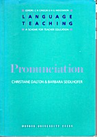 Pronunciation (Resource Books for Teachers)