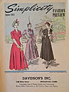 Simplicity Fashion Preview, 1948 August by…