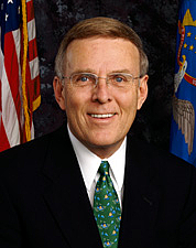 Author photo. Official U.S. Senate Portrait