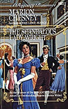 The Scandalous Lady Wright by Marion Chesney