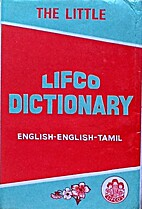The Little Lifco Dictionary English-Tamil