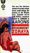 Assignment-Zoraya by Edward S. Aarons