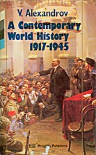 A contemporary world history, 1917-1945 by…