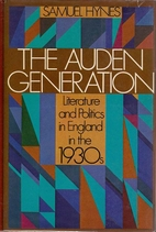 The Auden Generation: Literature and…