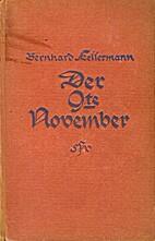Der 9. November : Roman by Bernhard…