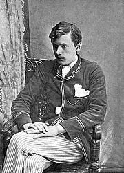 Author photo. Image from <b><i>The Poems of Ernest Dowson</i></b> (London: John Lane, 1905)