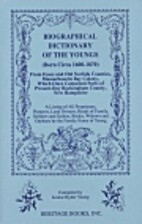Biographical Dictionary of the Youngs (Born…