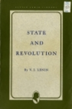 State and Revolution by V. I. Lenin