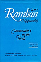 Ramban Commentary: Exodus by Rabbi Dr…
