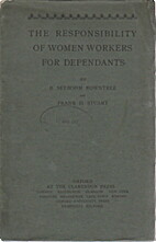 The Responsibility of Women Workers for…