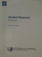 Student Resource Notebook (Hardcopy) by Lori…
