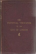 Statistical vindication of the City of…