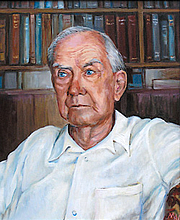 """Author photo. Portrait by <a href=""""http://www.grahamgreenebt.org/index.php"""">Margaret Woods</a>"""