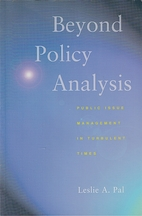 Beyond policy analysis: public issue…