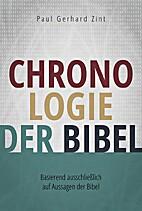 Chronologie der Bibel: Basierend…