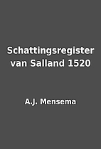 Schattingsregister van Salland 1520 by A.J.…