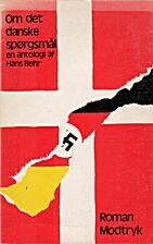 Om det danske spørgsmål by Hans Behr