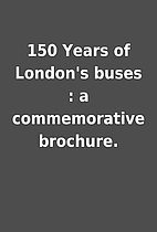 150 Years of London's buses : a…
