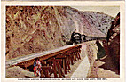 California Limited in Apache Canyon, ….…