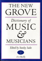 The New Grove Dictionary of Music and…