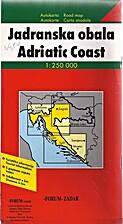 (croatia) Adriatic Coast (map)