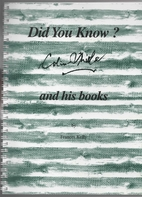 Did you know? : Colin Thiele and his books…