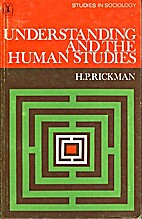 Understanding and the Human Studies by H. P.…