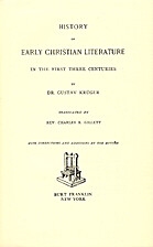 History of Early Christian Literature in the…
