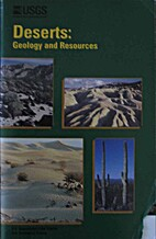 Deserts: Geology and Resources by A. S.…
