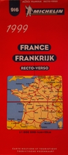 France recto-verso 1:1.000.000 916 by…