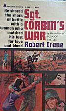 Sgt. Corbin's war by Robert Crane