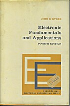 Electronic fundamentals and applications by…